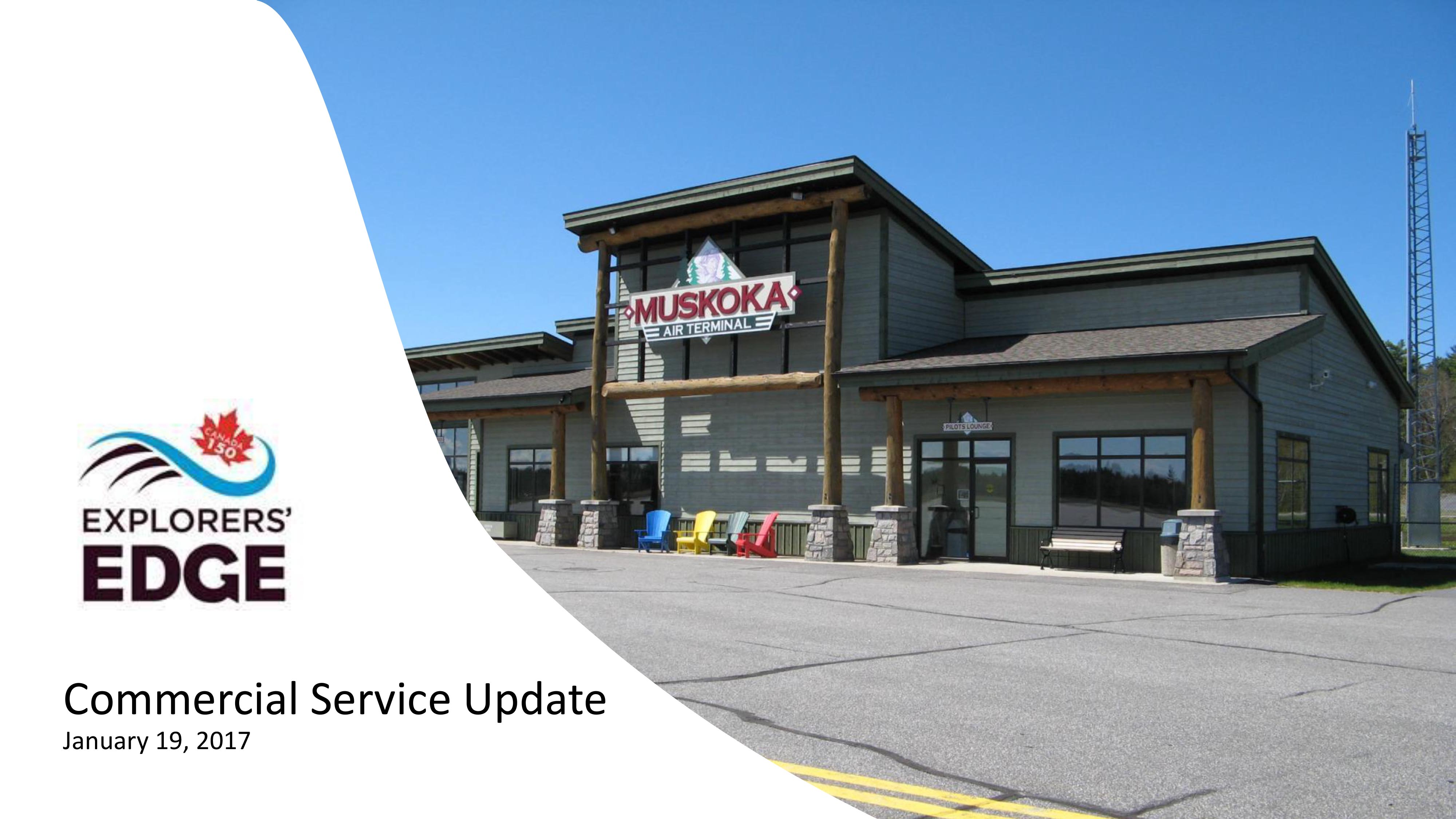 Commercial Service Update